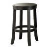 Liberty Furniture Rubbed Black 24-in Counter Stool
