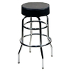 Alston Quality Industries Lustrous Chrome 30-in Bar Stool