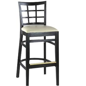 Alston Quality Industries Cherry 30-in Bar Stool