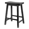 Winsome Wood Black 24-in Counter Stool