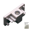 Cal Lighting Steel-Painted Linear Track Light Live End Cover