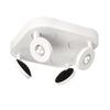 Philips Ledino 4-Light 11.22-in White Flush Mount Fixed Track Light Kit