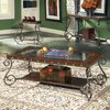 Steve Silver Company Ellery Glass Rectangular Coffee Table