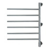 Cascadia Polished Stainless-Steel Towel Warmer