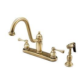 Shop Elements of Design New Orleans Vintage Brass 2 Handle