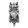 Notting Hill Pewter Cabinet Backplate