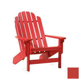 Shop Siesta Furniture Bayfront Red Plastic Adirondack