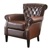 Best Selling Home Decor Franklin Chocolate Brown Club Chair