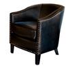 Best Selling Home Decor Austin Black Club Chair