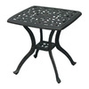 Darlee Series 80 21-in W x 21-in L Square Aluminum End Table