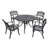 Crosley Furniture 5-Piece Aluminum Patio Bistro Set