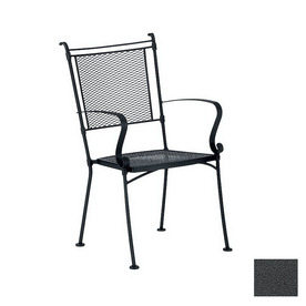 Shop Cascadia Bradford Wrought Iron Patio Dining Chair at