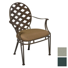 Shop Cascadia Stratton Wrought Iron Patio Dining Chair at
