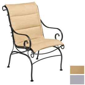Shop Cascadia Terrace Wrought Iron Patio Dining Chair at