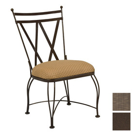 Shop Cascadia Berkshire Wrought Iron Patio Dining Chair at