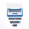 BLUFIXX BluFixx 16 Gram Starter Kit with clear cartridge, 3-in-1 file & case