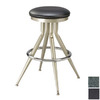 Regal Seating Black 30-in Bar Stool