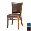 Regal Seating Set of 2 Fine Beechwood Dark Walnut Dining Chairs