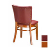 Regal Seating Set of 2 Fine Beechwood Cherry Dining Chairs
