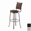 Trica Bill Silver 26-in Counter Stool