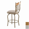 Trica Raphael I Silver 26-in Counter Stool