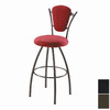 Trica Clip Titanium 34-in Bar Stool