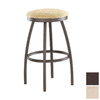 Trica Henry Golden Brown 26-in Counter Stool