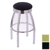 Holland Steel Series Black 25-in Counter Stool