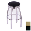 Holland Steel Series Black 30-in Bar Stool