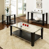 Steve Silver Company Newman Espresso Accent Table Set