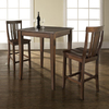 Crosley Furniture Vintage Mahogany Dining Set