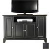 Crosley Furniture Newport Black Rectangular Television Stand