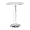 Eurostyle Trave-B Chrome Round Dining Table