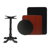Regal Seating Black Round Dining Table