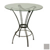 Trica Transit Silver Round Dining Table