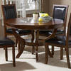 Homelegance Avalon Low Sheen Cherry Round Dining Table