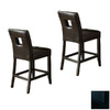 Homelegance Archstone Black 24-in Counter Stool