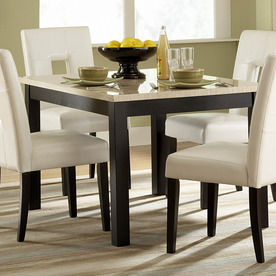 Shop Homelegance Archstone Black Rectangular Dining Table At