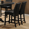 Homelegance Papario Black 24-in Counter Stool