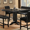 Homelegance Papario Black Square Dining Table