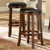 Homelegance Ameillia Dark Oak 24-in Counter Stool