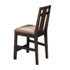 Somerton Home Furnishings Enchantment Natural Walnut 25-in Counter Stool