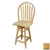 TMS Furniture Arrowback Natural 24-in Counter Stool