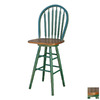 TMS Furniture Arrowback Green 30-in Bar Stool