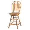 Sunset Trading Sunset Selections Light Oak 24-in Counter Stool