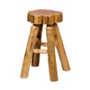 Fireside Lodge Furniture Cedar Lacquer 24-in Counter Stool