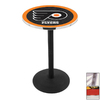 Holland Philadelphia Flyers Stainless Steel Round Dining Table