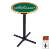 Holland University of South Florida Black Wrinkle Round Dining Table