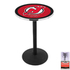 Holland New Jersey Devils Chrome Round Dining Table