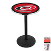 Holland Carolina Hurricanes Stainless Steel Round Dining Table